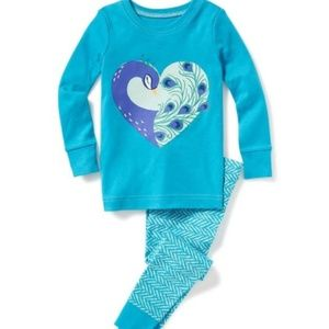 Other - 6-12M,12-18M,18-24M,2T peacock pajamas blue